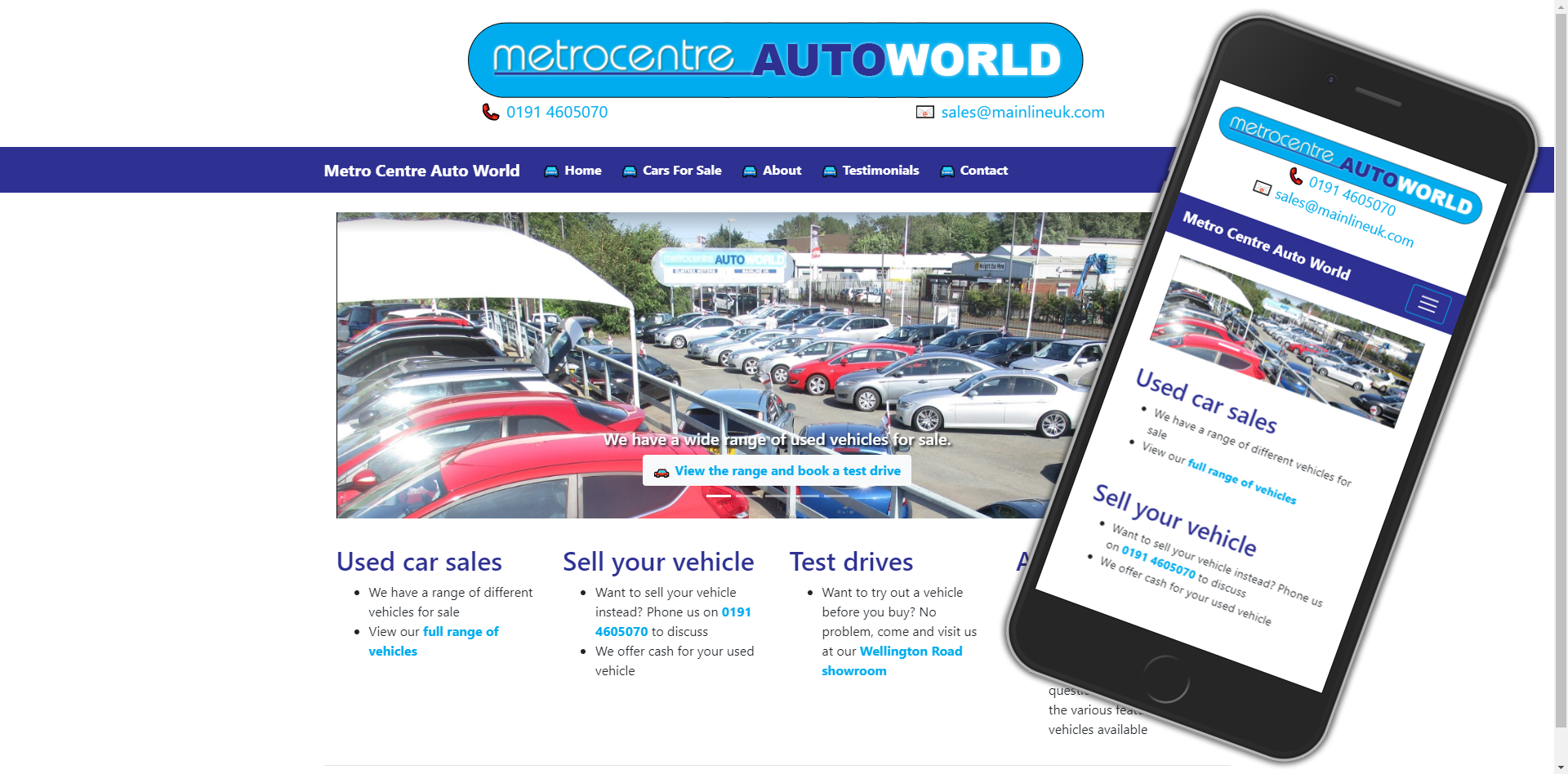 Metro Centre Auto World